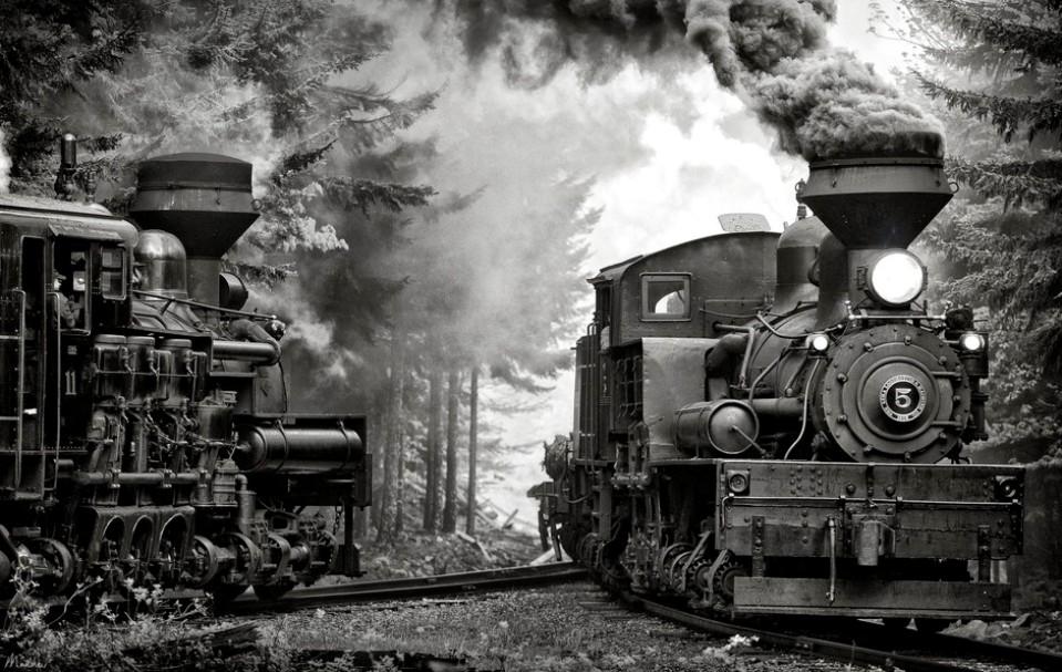 Фотографии старых поездов — pic 12