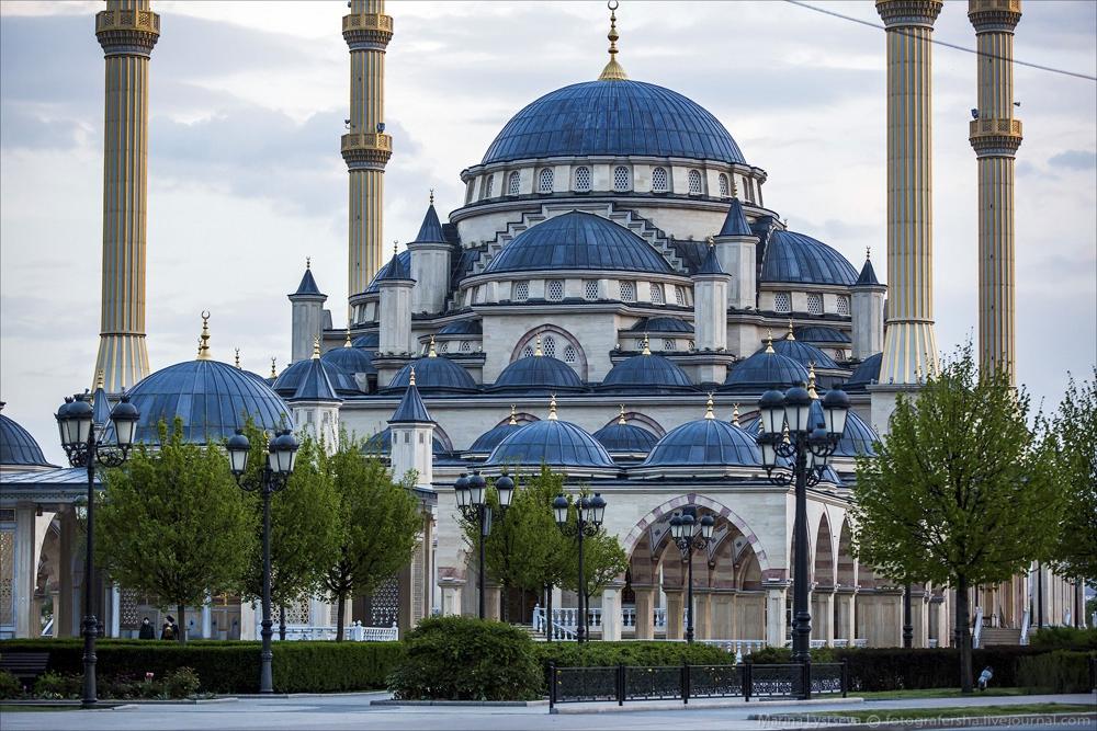 самым мечеть в грозном сердце чечни фото можно приготовить