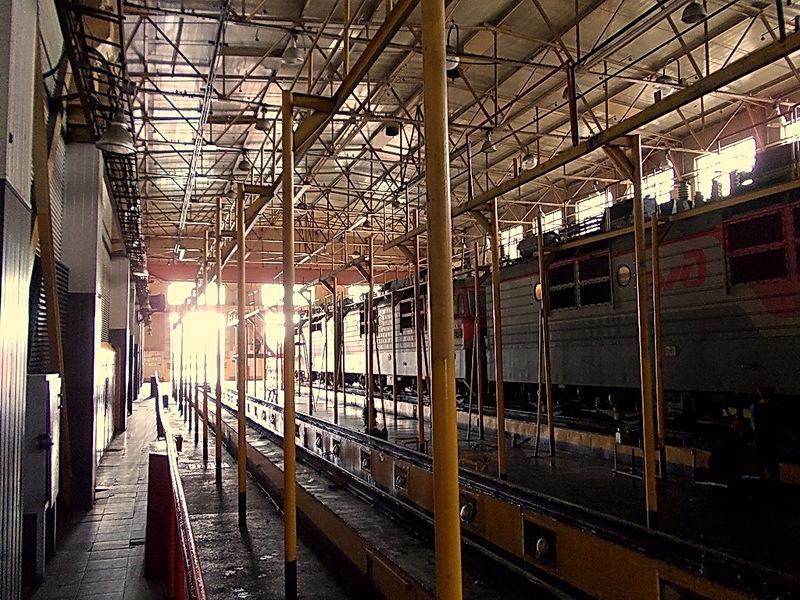 Локомотивное депо хабаровск фото