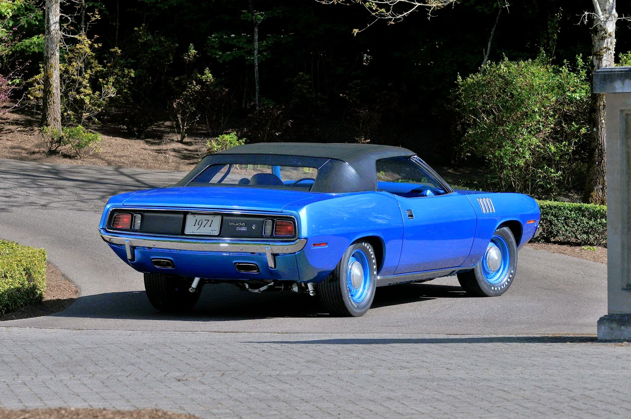 Plymouth Barracuda Convertible 1971