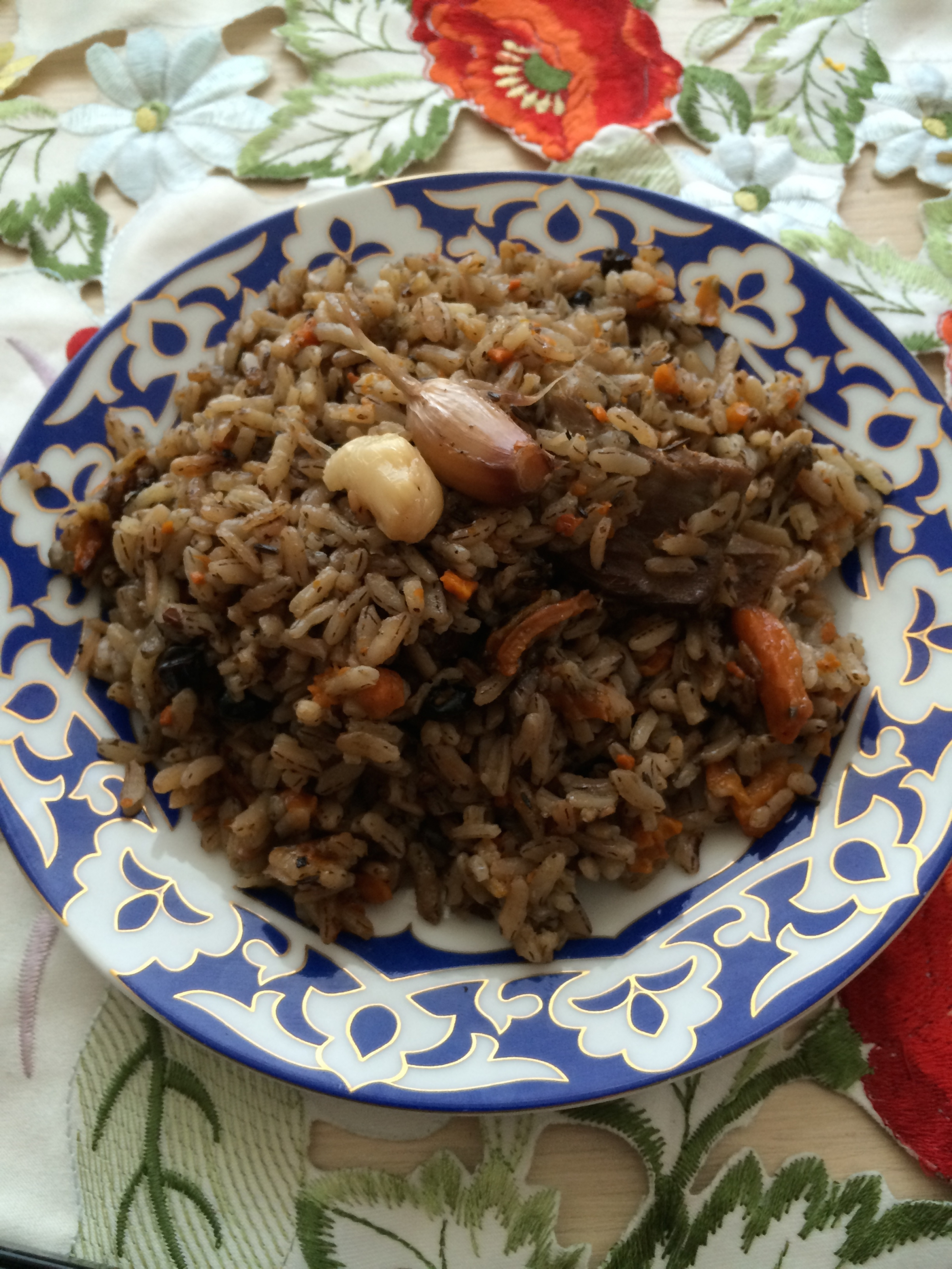 узбекский плов рецепт с фото пошагово в казани