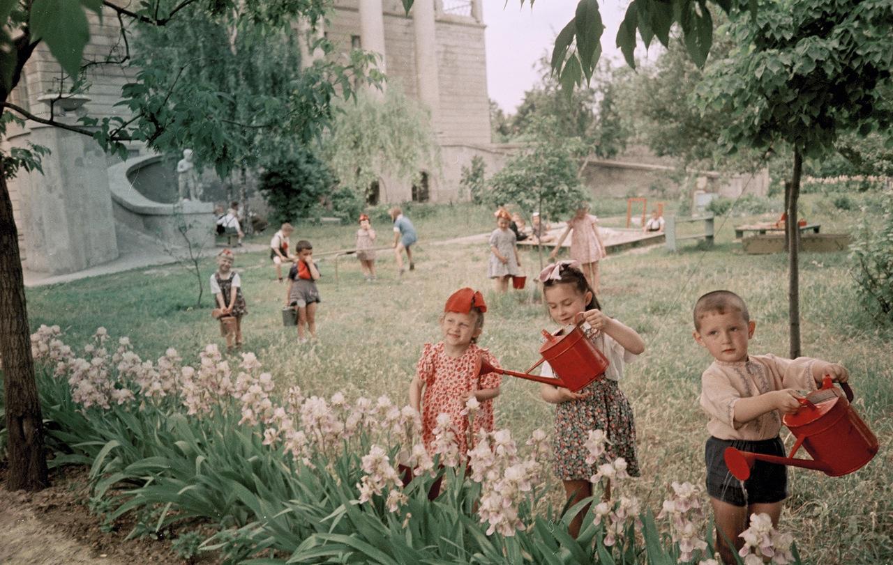 Детство в ссср фото цветные
