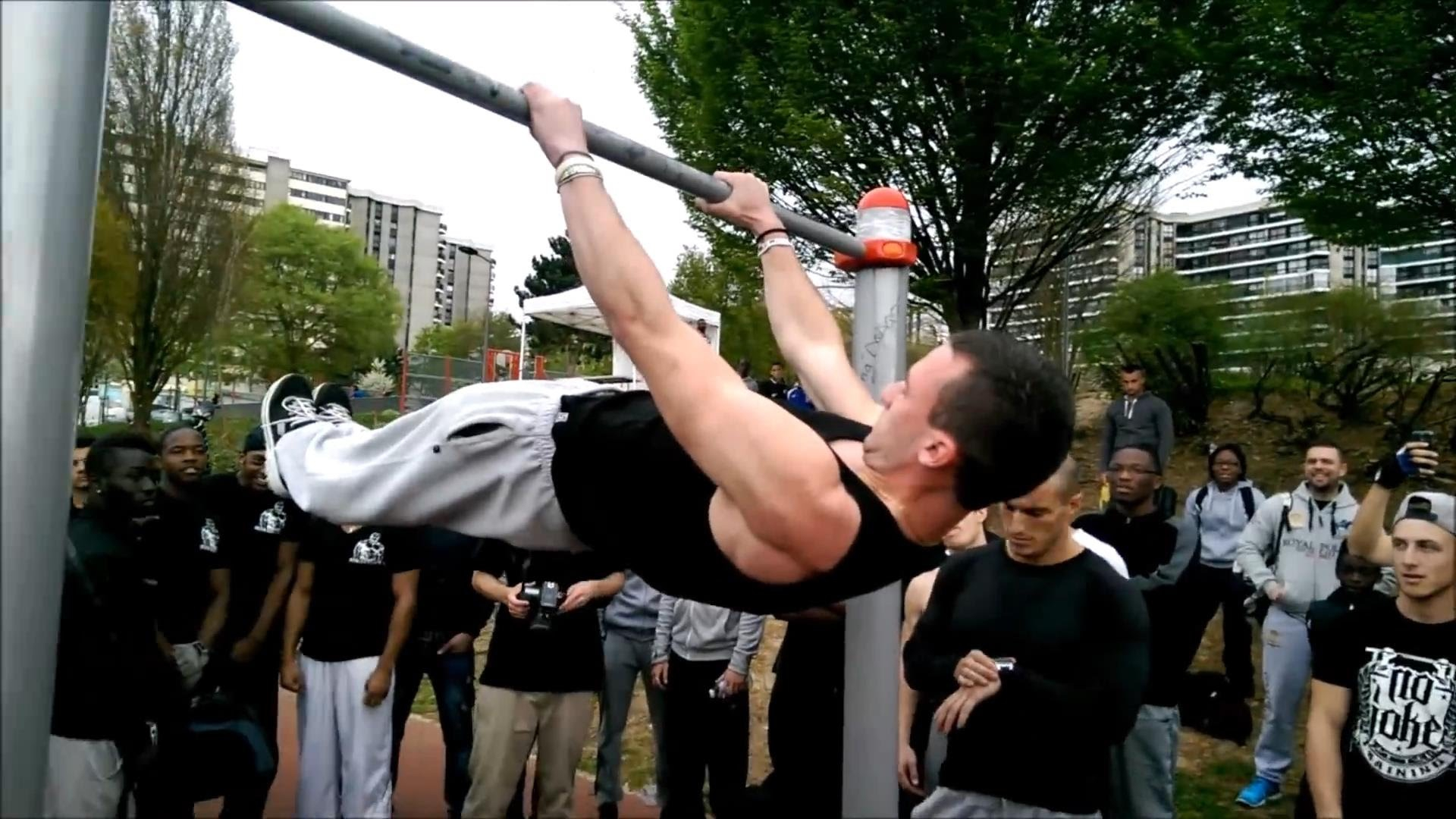 Front Lever 41 seconds - World record