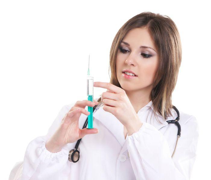 Сексуальные медсестры делают процедуры