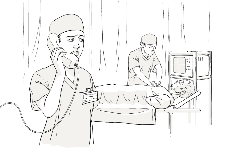 картинки медработников карандашом