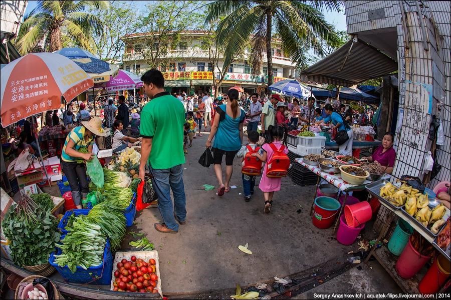 китая фото торговля