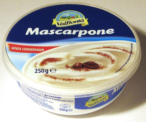 Сыр маскарпоне вкусный