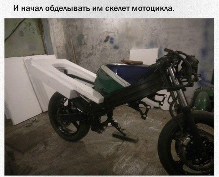 Обвесы своими рукам на мотоцикл