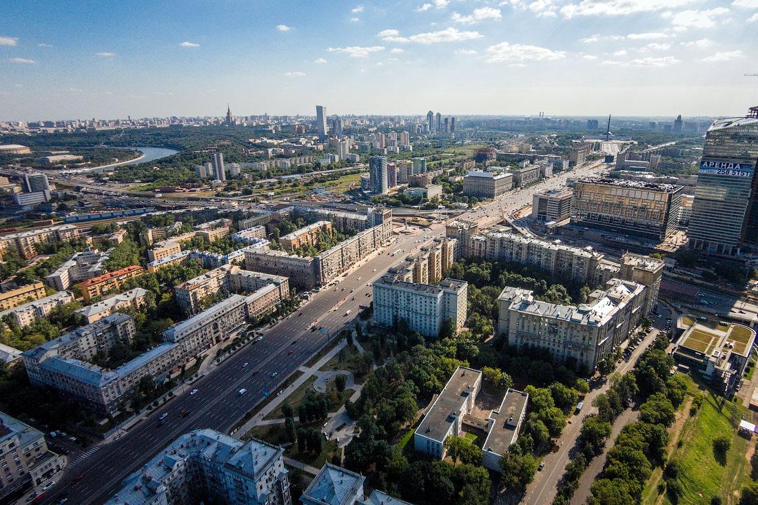 Москва картинки с высоты