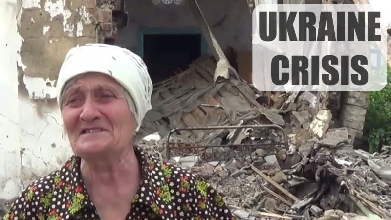 Ukraine Crisis: Death and destruction continues in Eastern Ukraine / Хунта убивает людей. [ENG SUB]