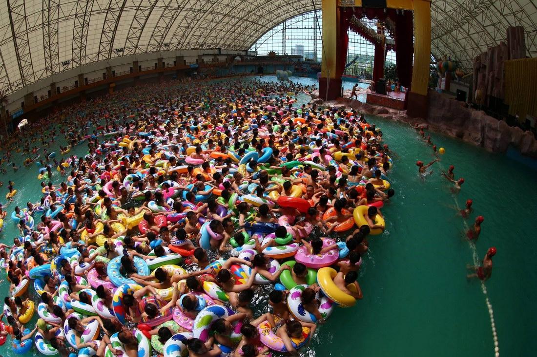 про ганика, китайские аквапарки фото малышка зашла свою