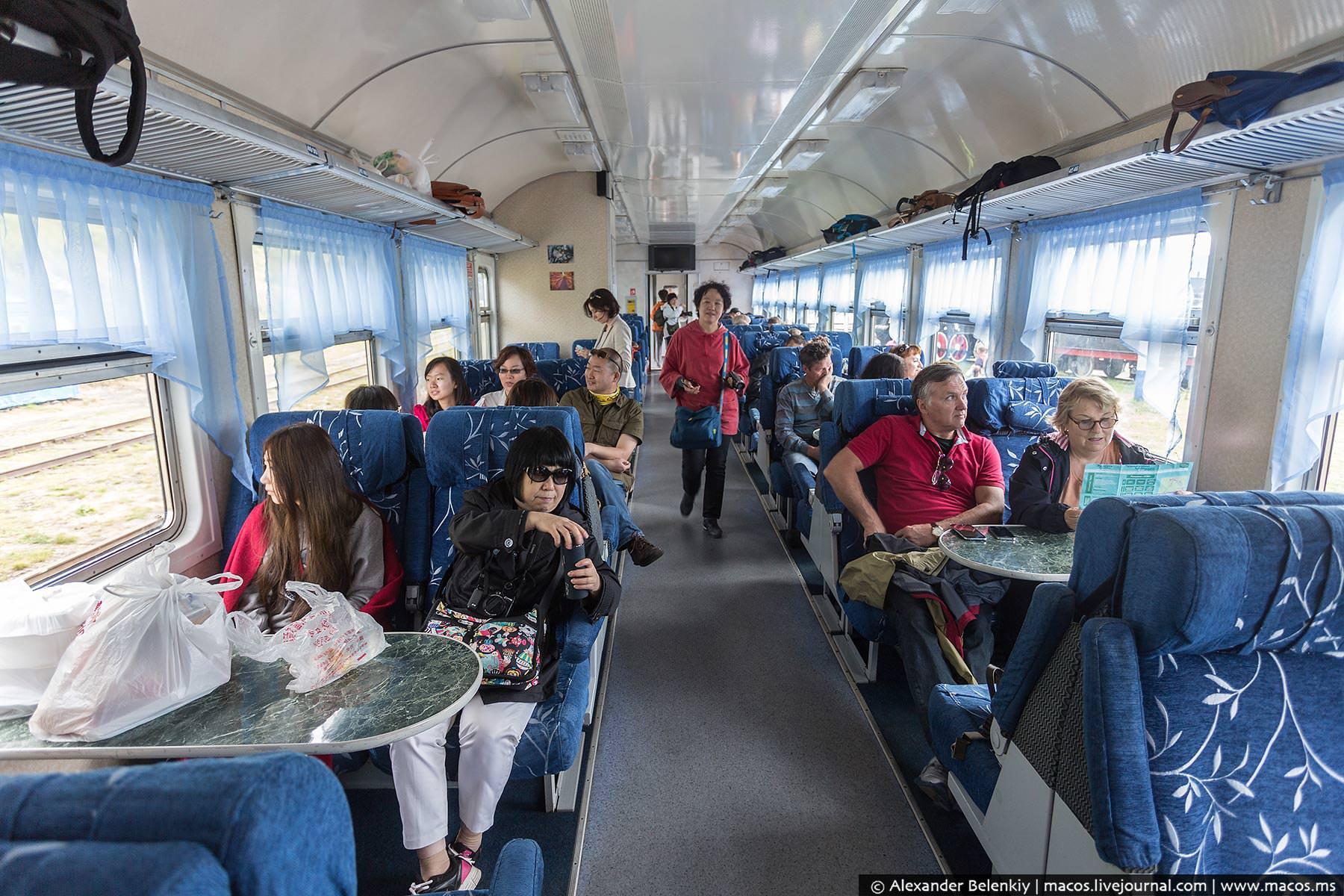 Экскурсия на поезде