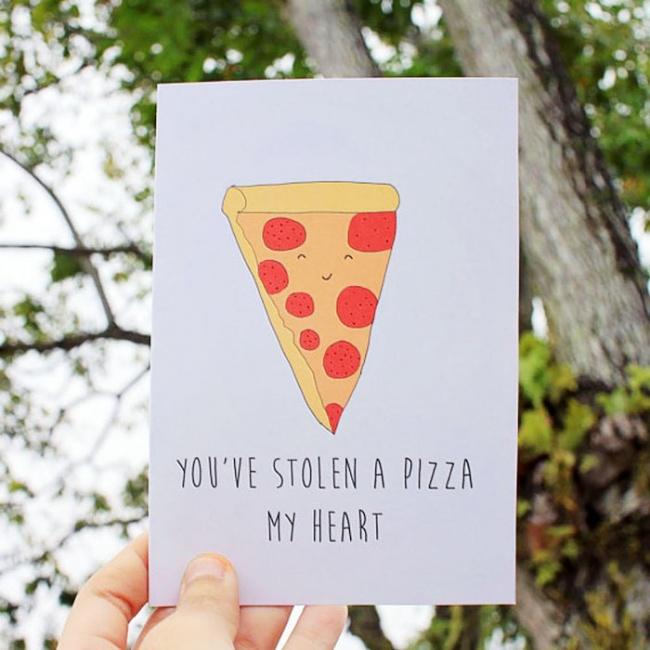 Нетривиальные открытки для влюбленных