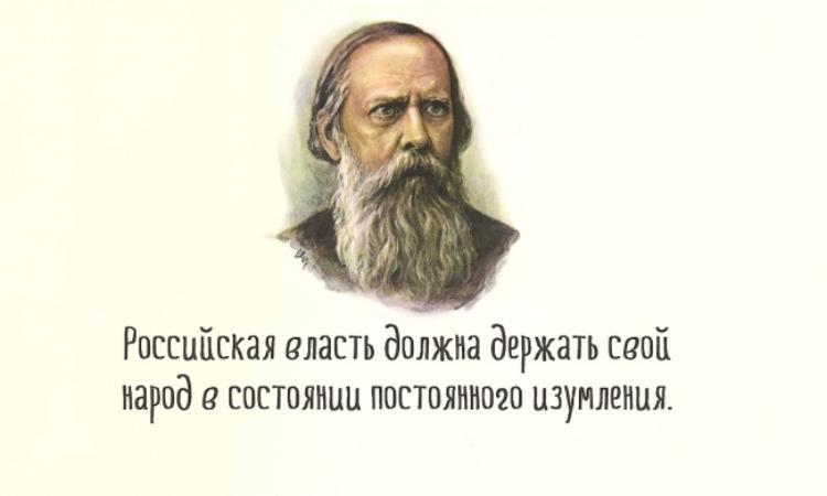 Салтыков-щедрин. не путать отечество с его превосходительством