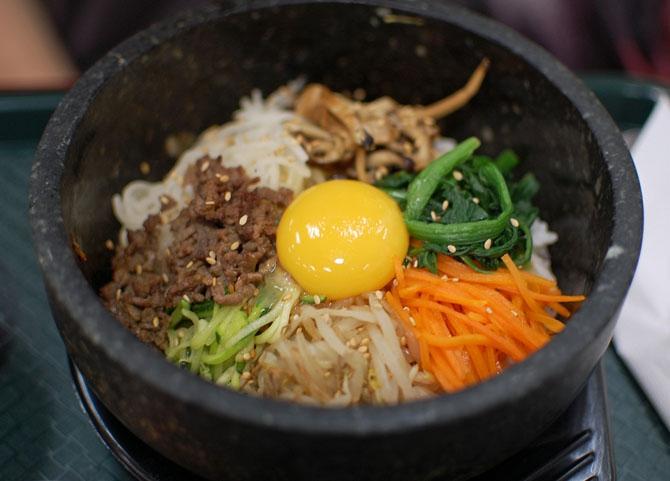 Корейские блюда из риса
