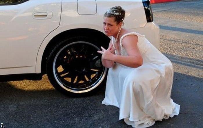 Смешные и идиотские свадебные фото от Miralanim за 18 августа 2014 маразм, невеста, свадьба, фото