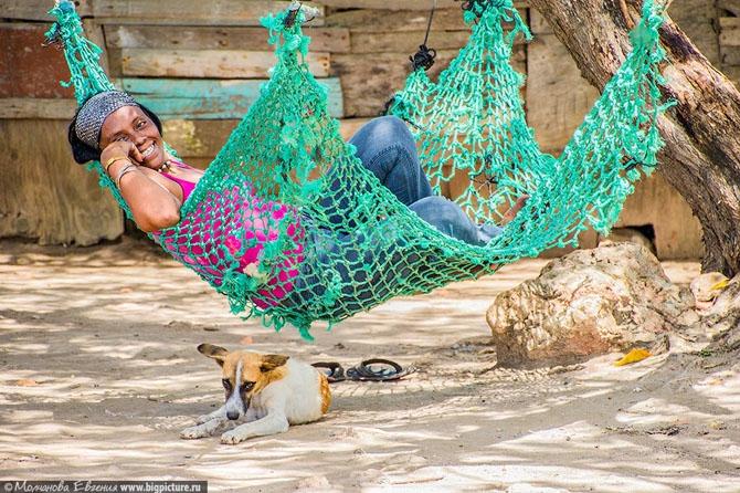 Секс на пляже доминиканы