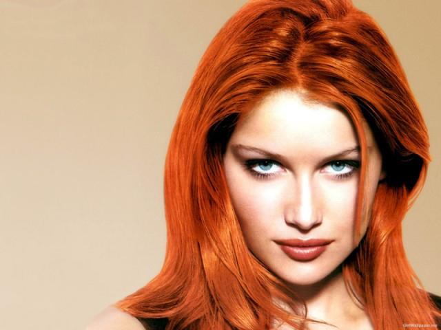Рыженькие волосы на лобковой части видео