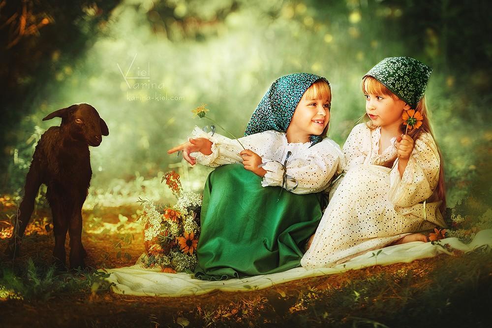 Фотосессия с детьми сказка