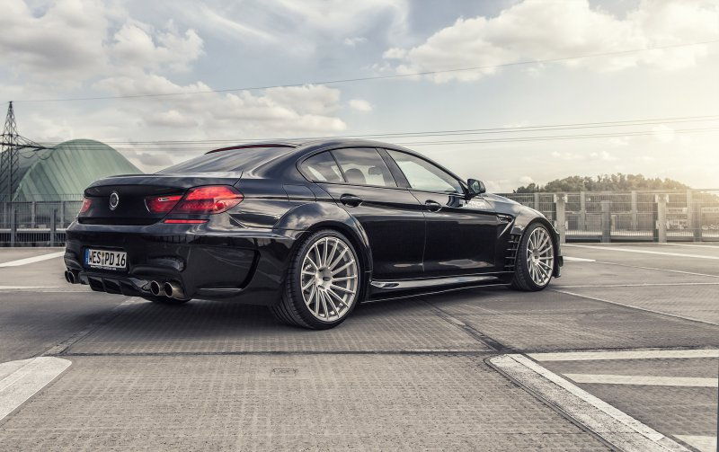 Cамый крутой BMW 6-Series Gran Coupe от Prior Design bmw 6-series, prior design, tuning, тюнинг