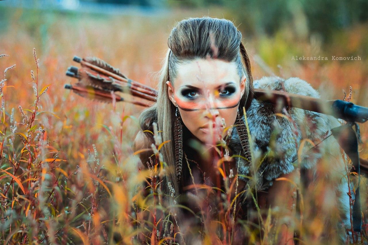 Красивые девушки в диком амазонке #5