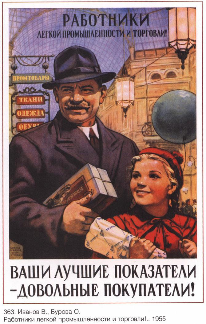 Советские постеры работа