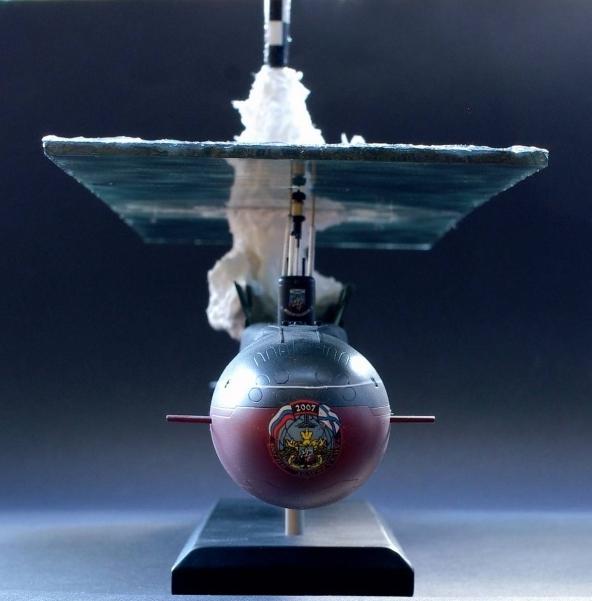 Очень реалистичная модель подводной лодки