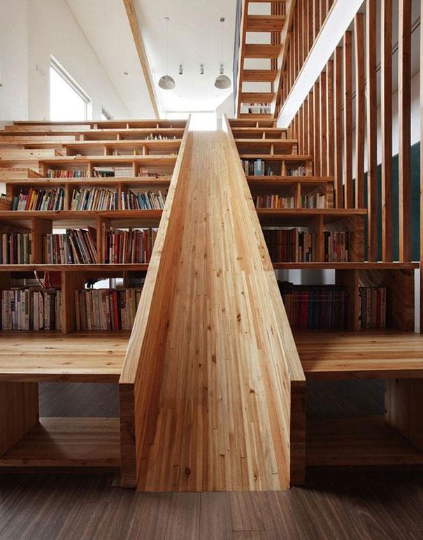 Необычные лестницы интересно
