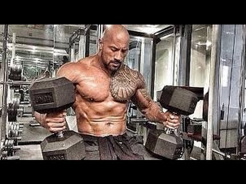 Dwayne Johnson workout routine for Hercules