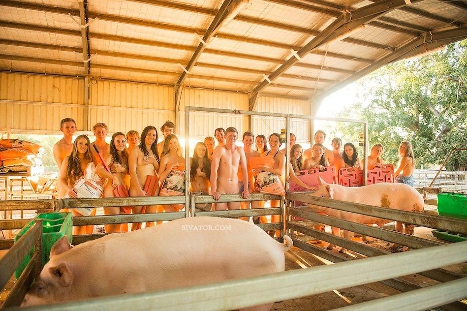 Фото голых студентов