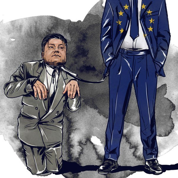 Bildergebnis für карикатура на порошенко