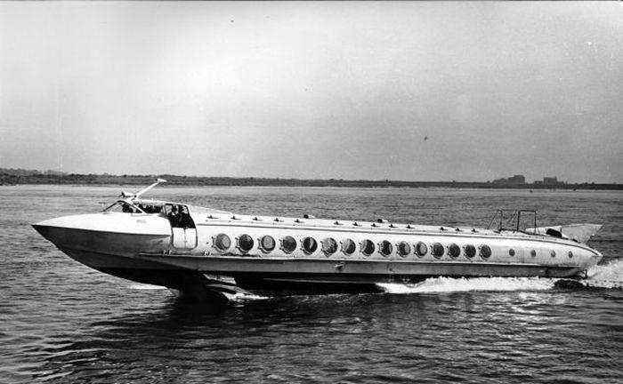 История и технологическая эволюция кораблей на подводных крыльях