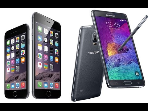 Apple iPhone 6 Plus VS Samsung Galaxy Note 4 Comparison & Reviev