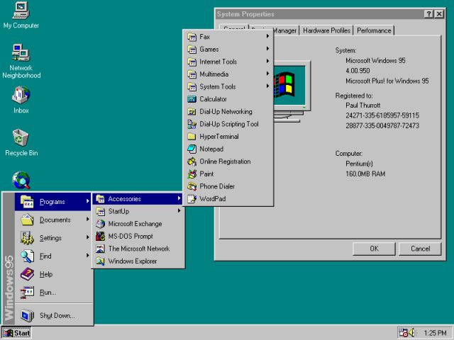 Windows 98 проги, система