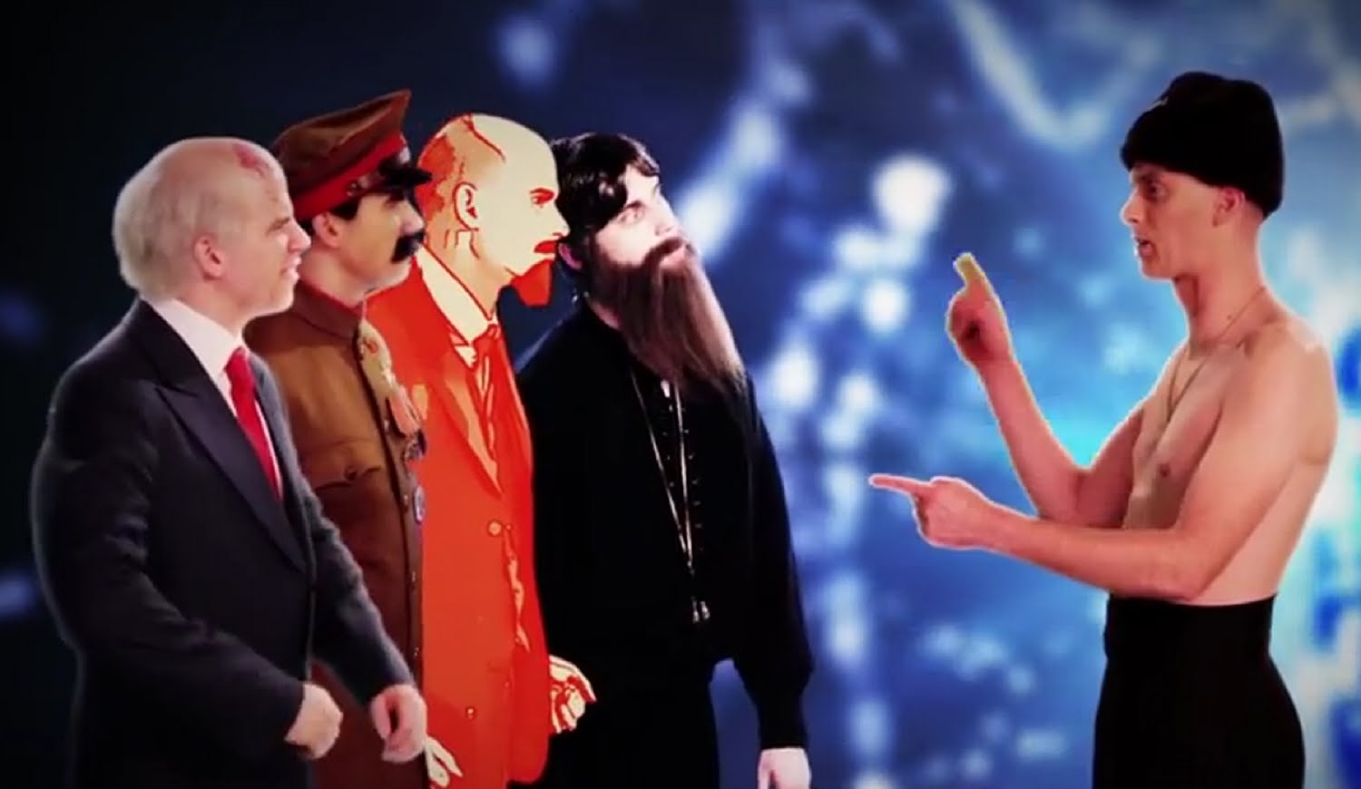 Epic Rap Battles. Rasputin vs Stalin
