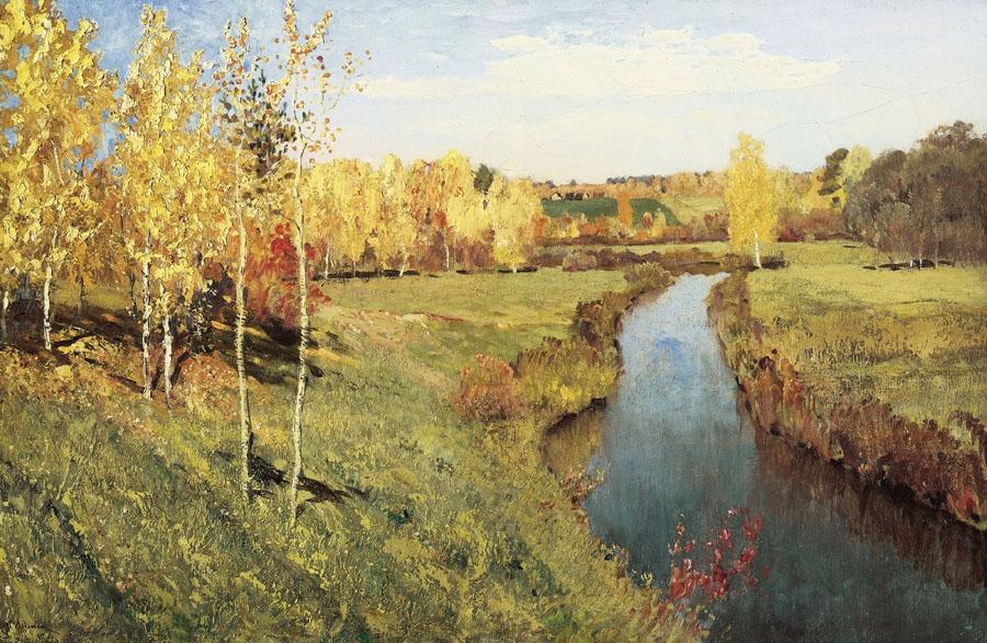 Осень в картинах русских художников изобразительное искусство, картины, русские художники, художники