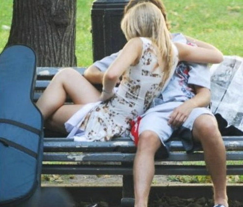 Общественном месте секс