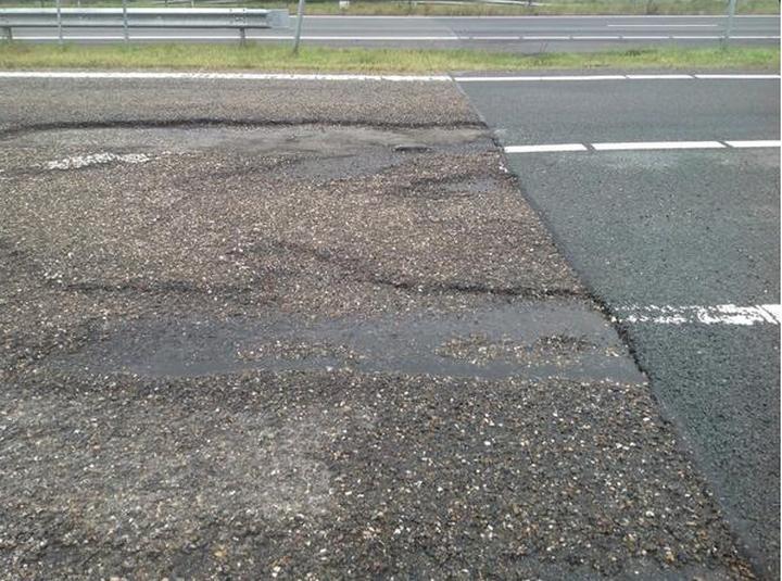 Стык дорог на границе Бельгии и Германии