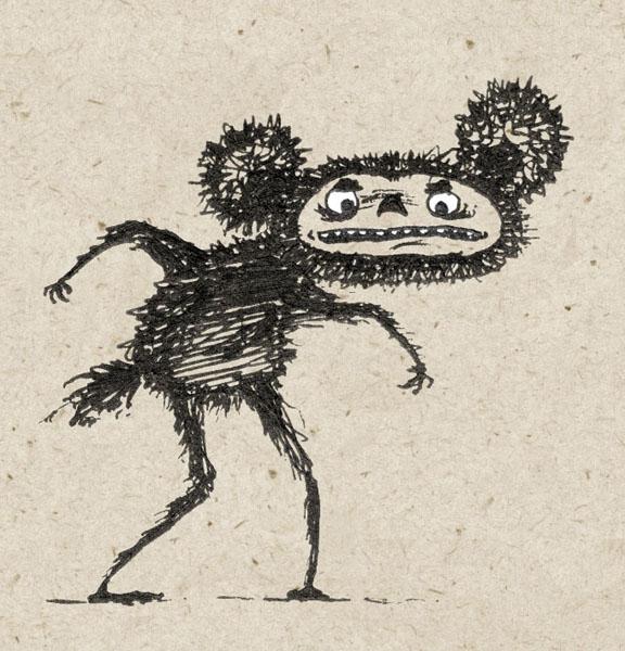 Страшные картинки чебурашки