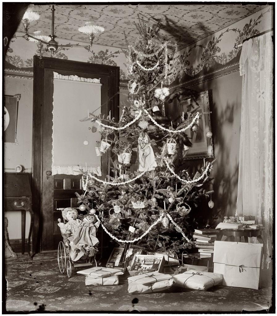Новогодние фото открытки 1900, создания