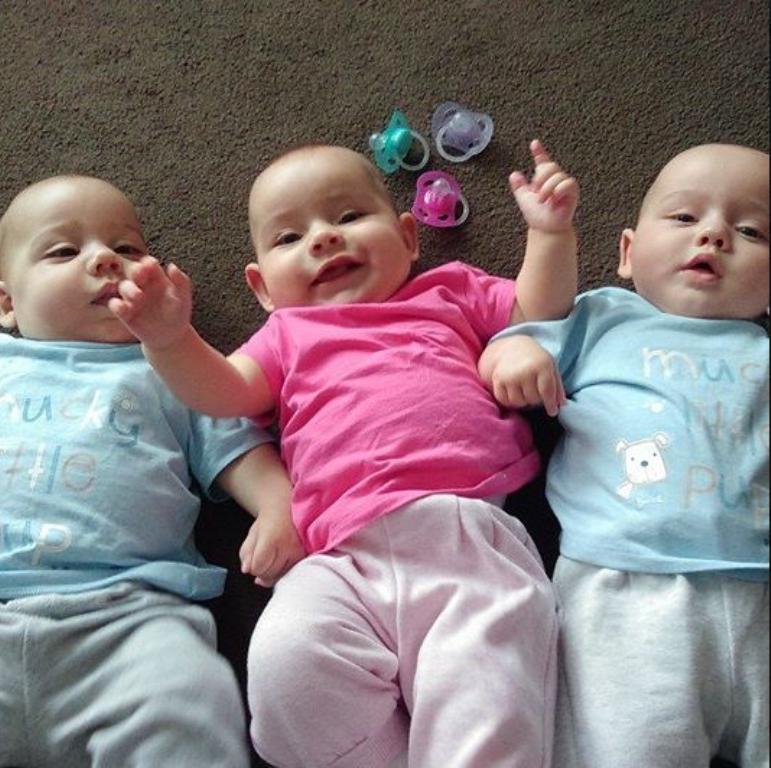 тройняшки в салде фото если изначально