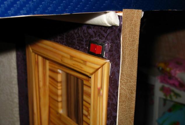 Выключатель в кукольный домик