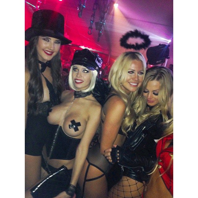 Topless halloween parties 14