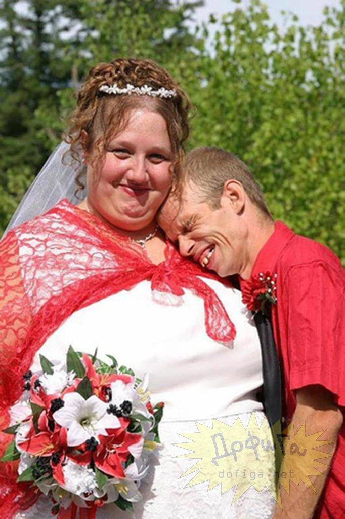 Самые страшные невесты и женихи фото