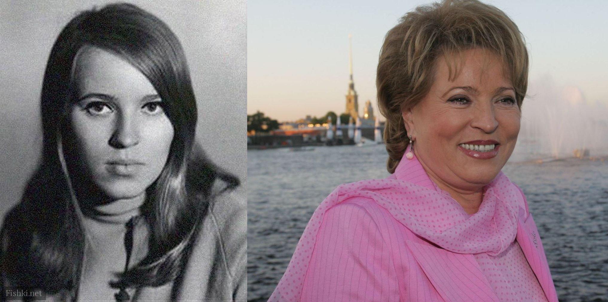 первые лица россии в молодости фото