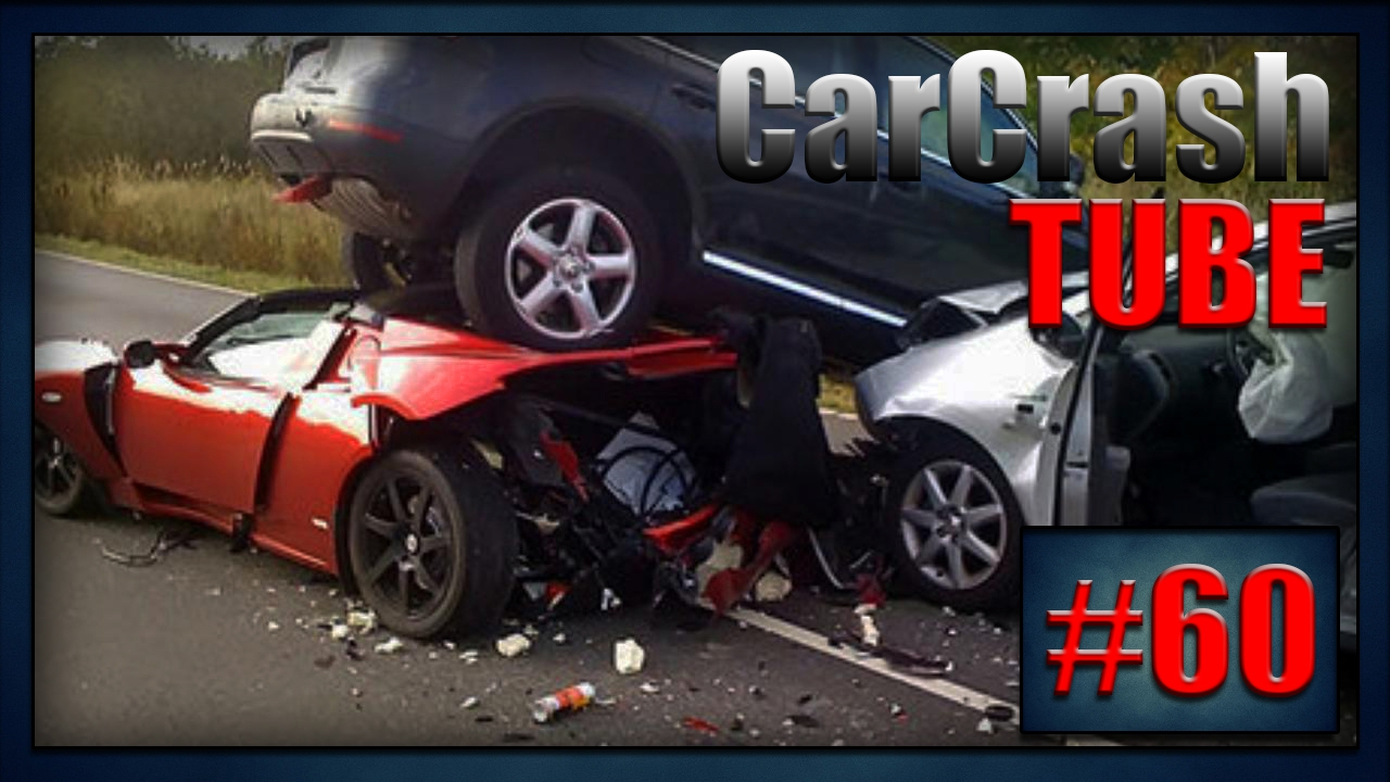 Car Crash Compilation || Car Crash Tube || Авто аварии, ДТП #60