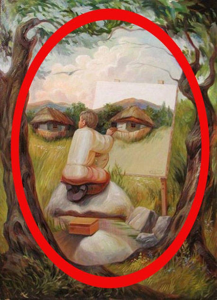 Картинка с двойным изображением, картинки анимация картинки