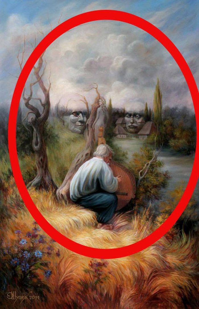картинки великих художников со скрытым смыслом искусству хорошо знакомы