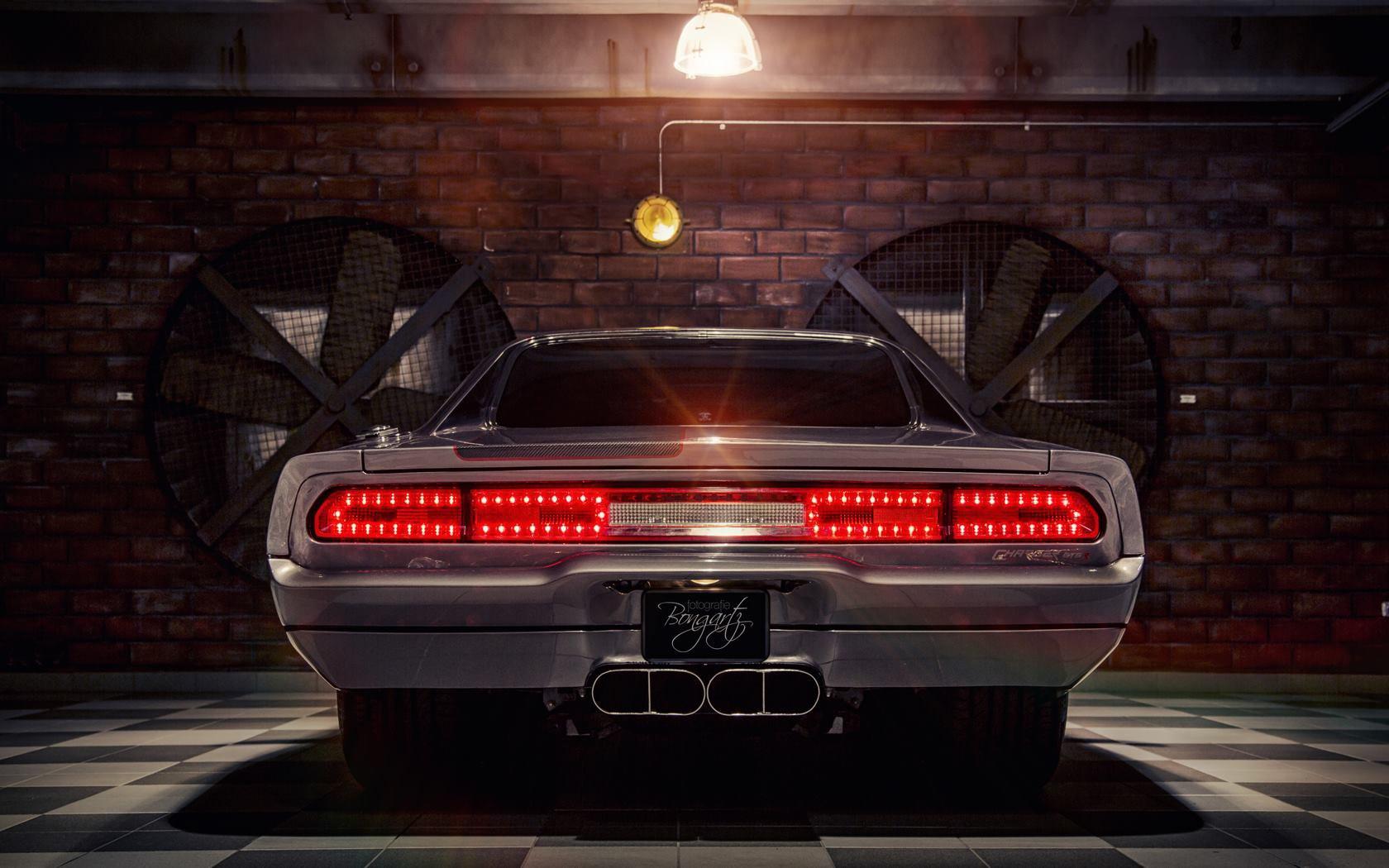 Обои Dodge challenger, передок, чёрный, матовый, car. Автомобили foto 17