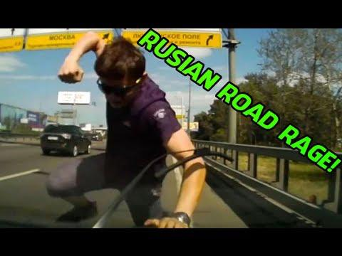 Top 10 Best RUSSIAN Road Rage COMPILATION! - [2014]